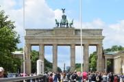 The classic brandenburg gate