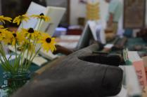 It was Open Farm day in Bowdoinham ME, cool antiques...